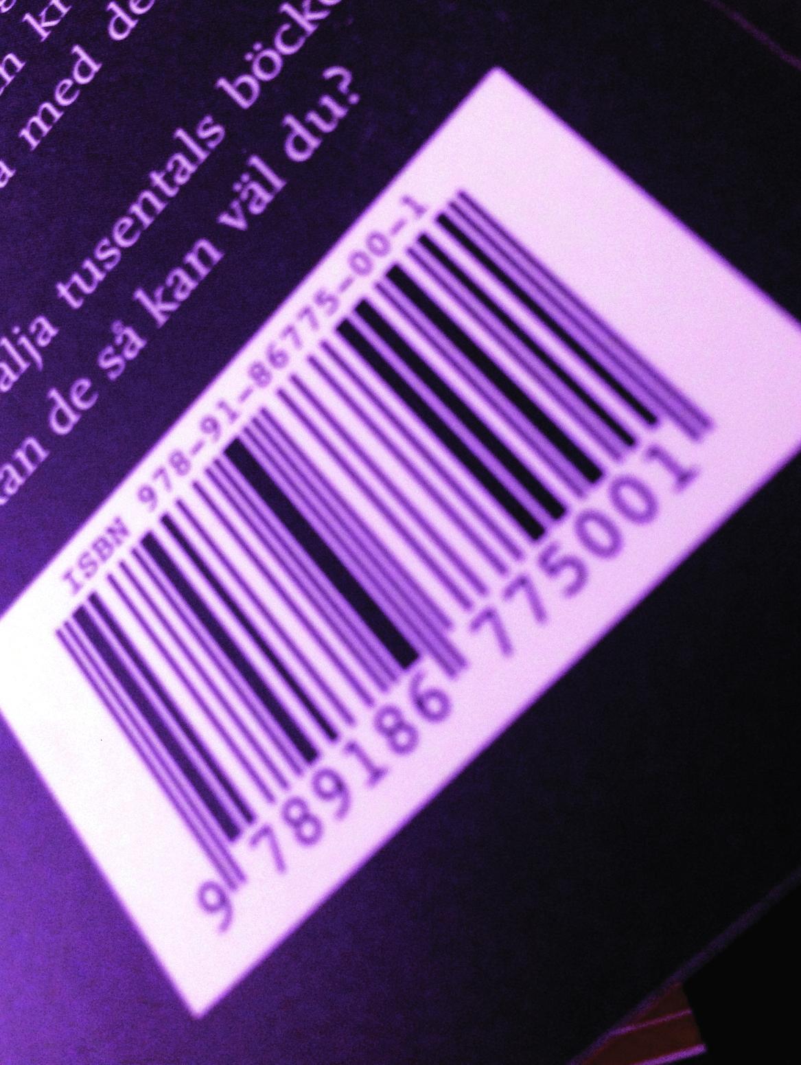 ISBN – personnumret på din bok